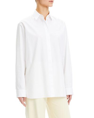 Cotton Menswear Button-Down Shirt