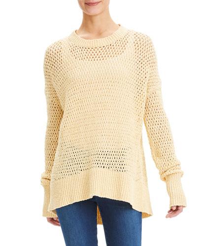 591ce15a4e8774 High Low Hem Sweater