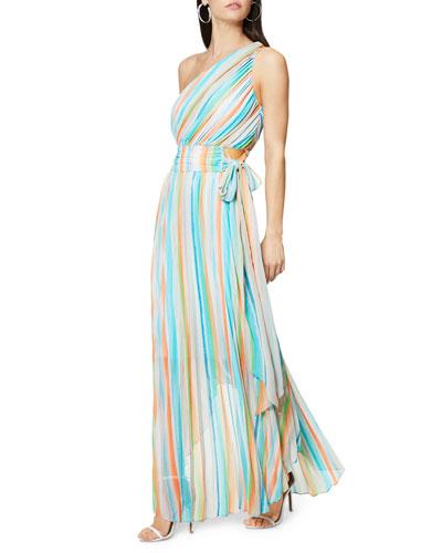 Belle One-Shoulder Maxi Dress
