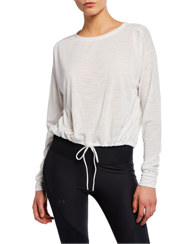 Whisperlight Cropped Pullover Top