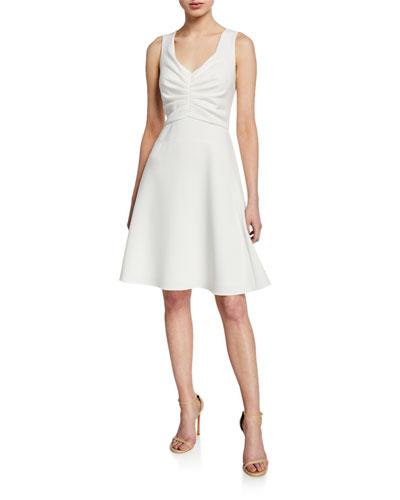 Talia Sleeveless Fit-&-Flare Dress