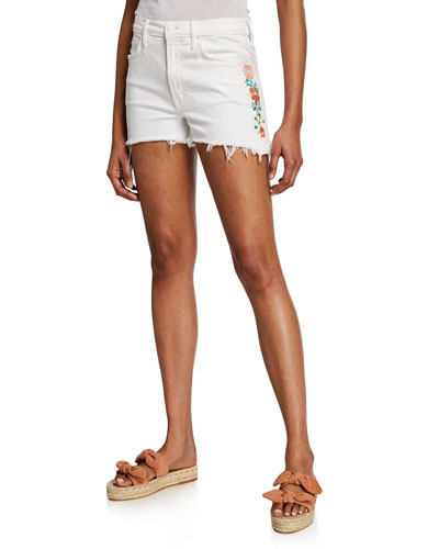 The Dutchie Embroidered Shorts