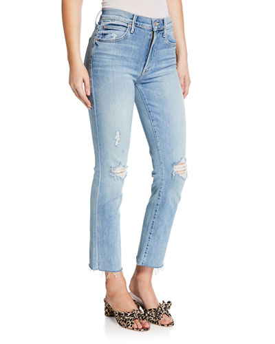 The Rascal Ankle Snippet Skinny Jeans
