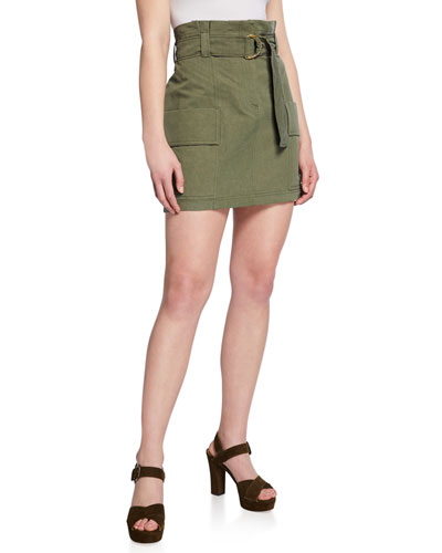 Kai Belted Utility Skirt