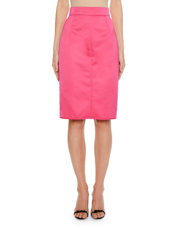 N°21 Skirts KNEE-LENGTH STRAIGHT SKIRT