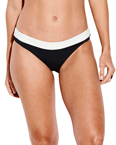 Two-Tone Hipster Bikini Bottom