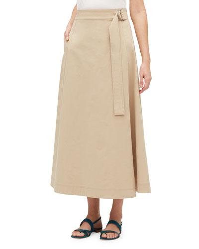 Nimah Long Wrap Skirt