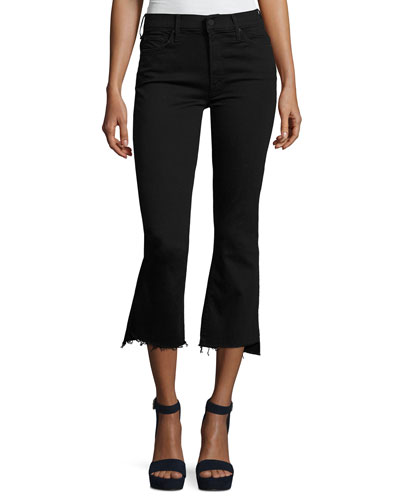 Insider Crop Step Fray Jeans, Not Guilty