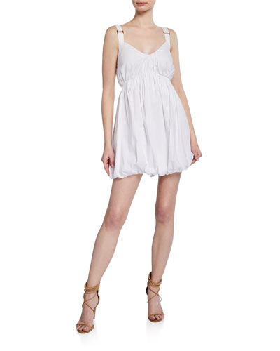 Pamela Sleeveless Strappy Short Dress