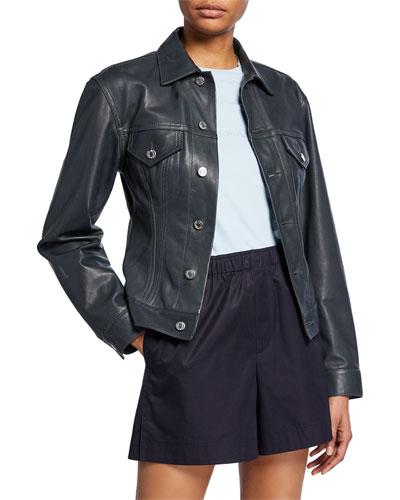 252706e56 Leather Jacket Outerwear | bergdorfgoodman.com