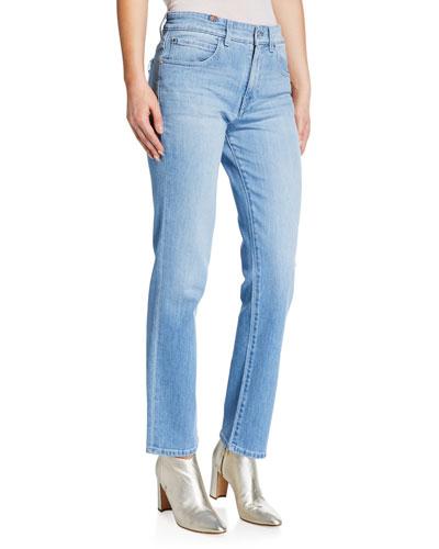 Aloha Straight-Leg Ankle Jeans