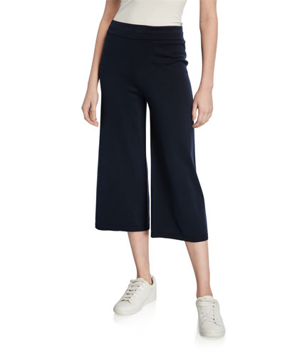 Washed Cotton Culottes