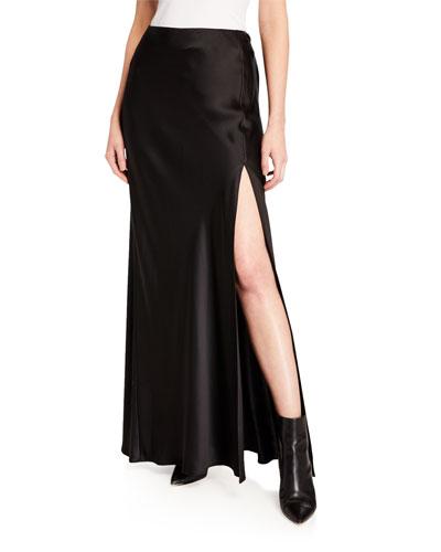 1aefca47bea3 Imported Silk Skirt   bergdorfgoodman.com