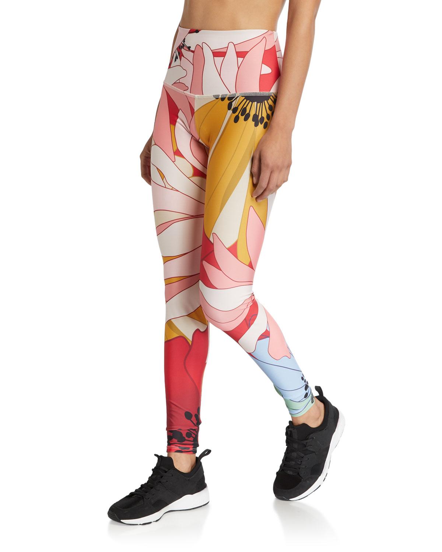 Onzie Pants HIGH-RISE GRAPHIC LEGGINGS