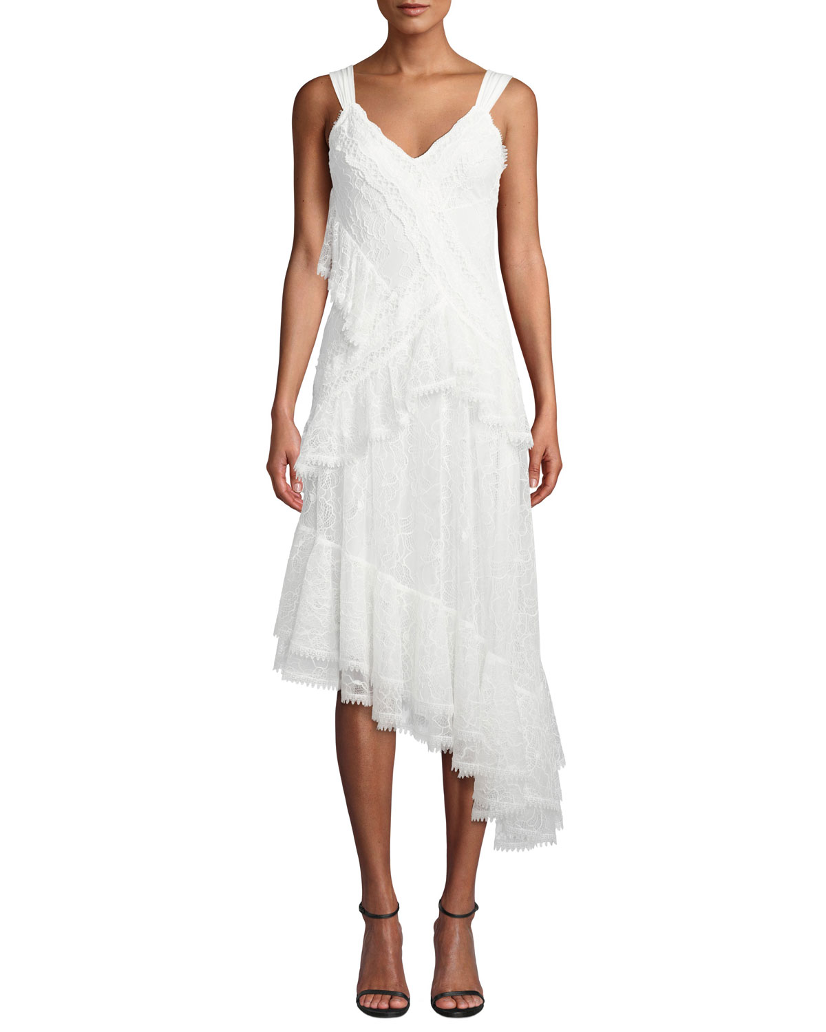 Alexis Dresses AUGUSTINE EMBROIDERED HIGH-LOW DRESS