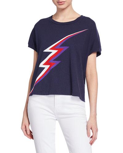 Lightning Bolt Short-Sleeve Graphic Tee