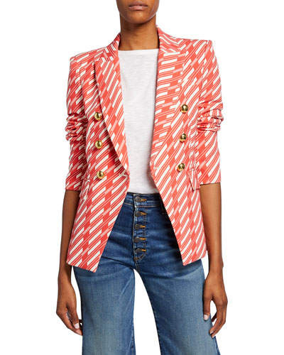Miller Striped Dickey Jacket