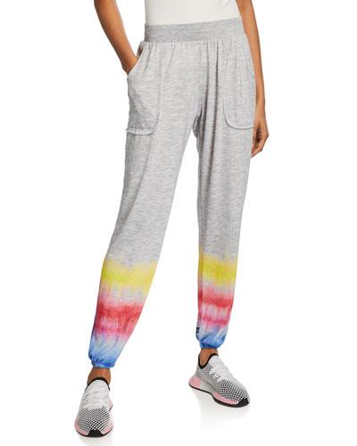 Dip-Dye Jogger Pants