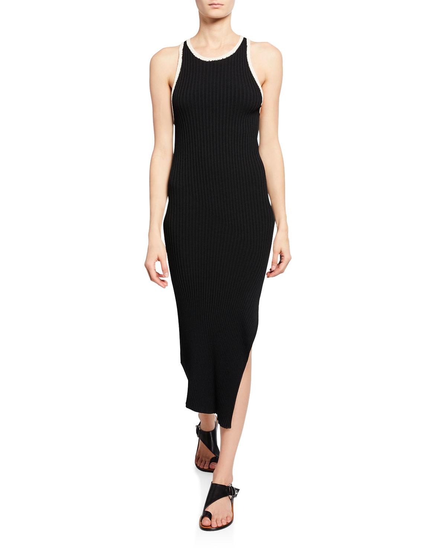A.l.c Dresses ANNINA RIBBED TANK DRESS