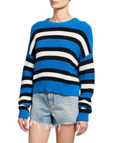 Matthews Striped Pullover Sweater