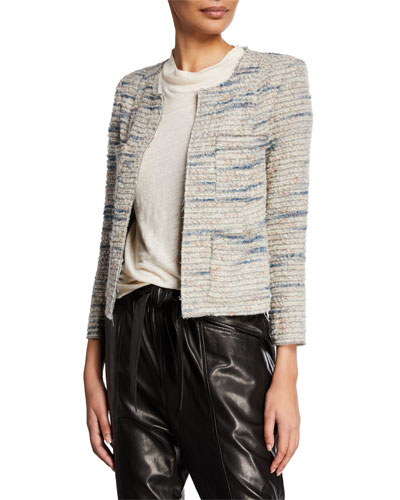 Belugo Open-Front Wool Jacket