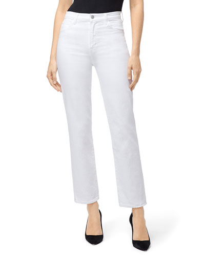 Jules High-Rise Straight-Leg Jeans
