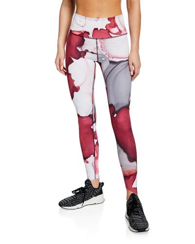 Breathelux Printed Performance Leggings