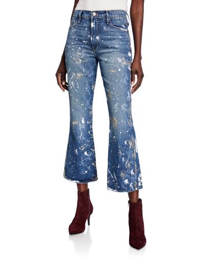Le Sylvie Kick Boot-Cut Jeans