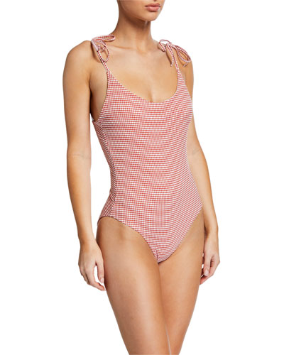 Ginny Gingham One-Piece Swimsuit