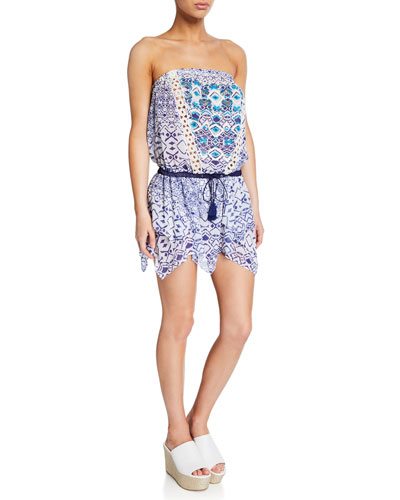 Salima Printed Sleeveless Dress