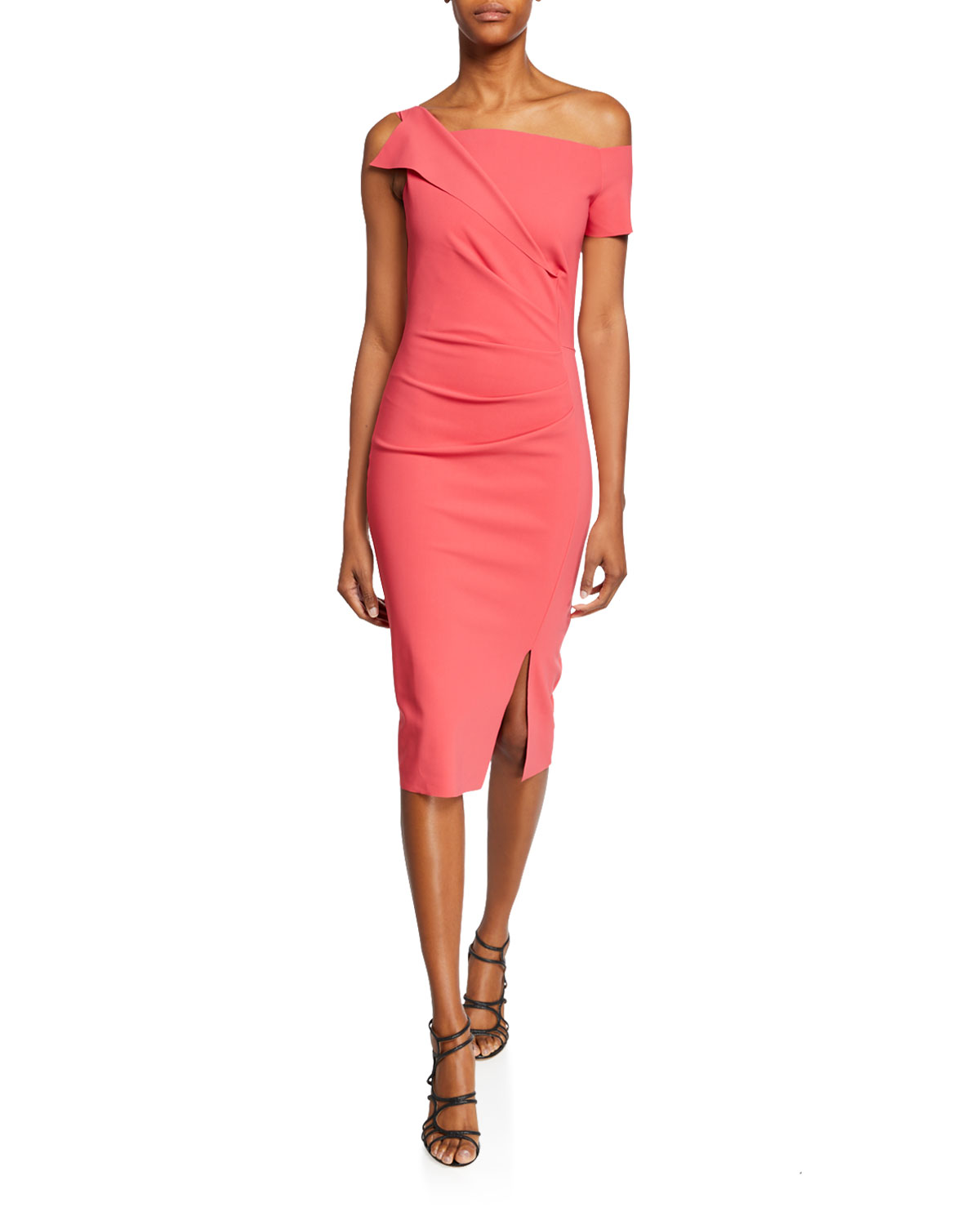 Chiara Boni La Petite Robe Dresses AFFIE ONE-SHOULDER ASYMMETRIC COCKTAIL DRESS