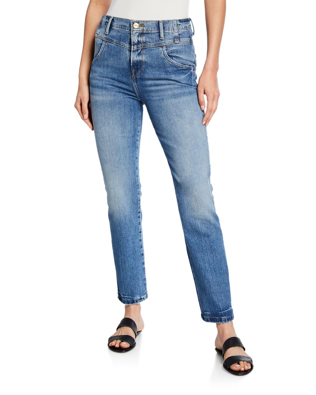 Frame Jeans RETRO V-YOKE STRAIGHT-LEG JEANS