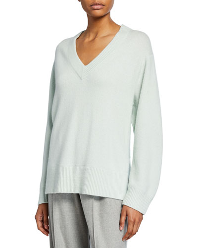 V-Neck Cashmere Tunic