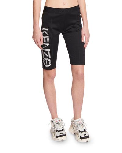 Logo Biker Shorts