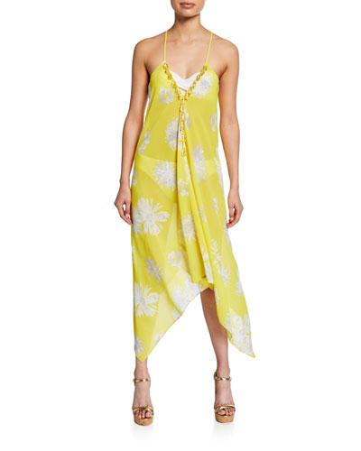 Kym Printed Coverup Dress