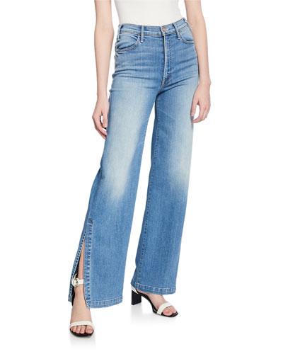 The Hustler Sidewinder Flare Jeans