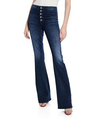 The Hollywood Pixie Cruiser Flare Jeans