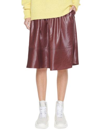 Liquid Drape Pull-On Skirt