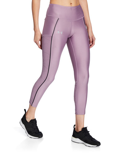 Armour Fly Fast Cropped Leggings w/ Raise Threads