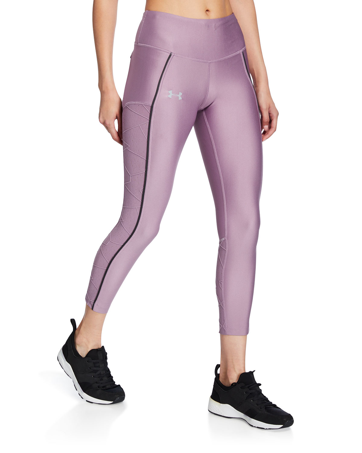 Under Armour Pants ARMOUR FLY FAST CROPPED LEGGINGS W/ RAISE THREADS