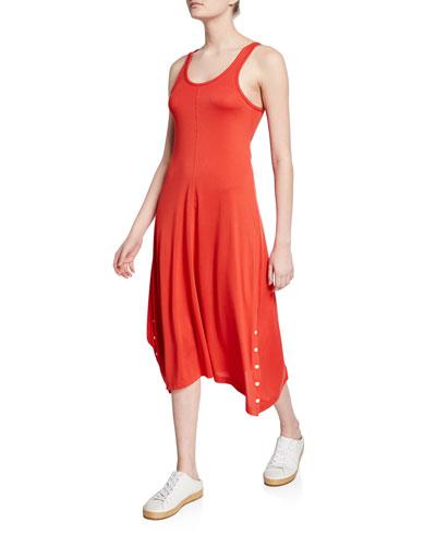 Allegra Scoop-Neck Tank Dress