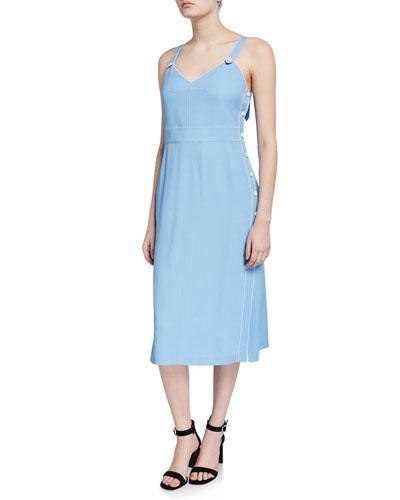 Tia Side-Snap Tank Dress