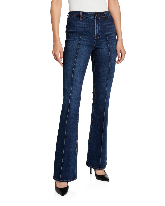 Elie Tahari Jeans SUZANA HIGH-RISE FLARE JEANS