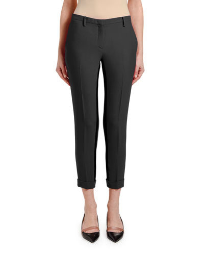 Cropped Skinny Ankle Pants