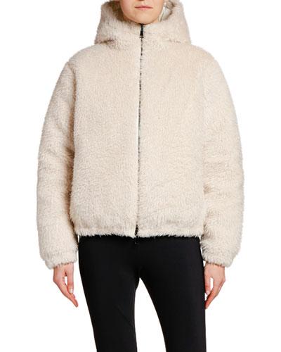 Kolima Reversible Faux Fur Jacket w/ Hood