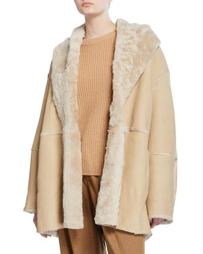 Shearling Cardi Coat