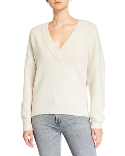 Alva Wool V-Neck Sweater