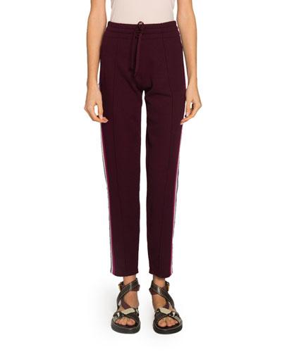 Darion Side-Stripe Drawstring Pants