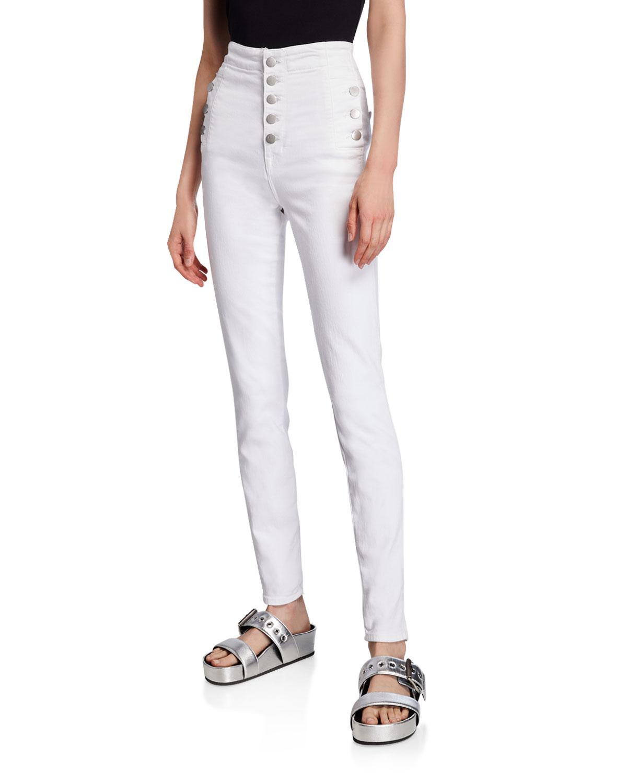 J Brand Jeans NATASHA SKY-HIGH SUPER SKINNY JEANS