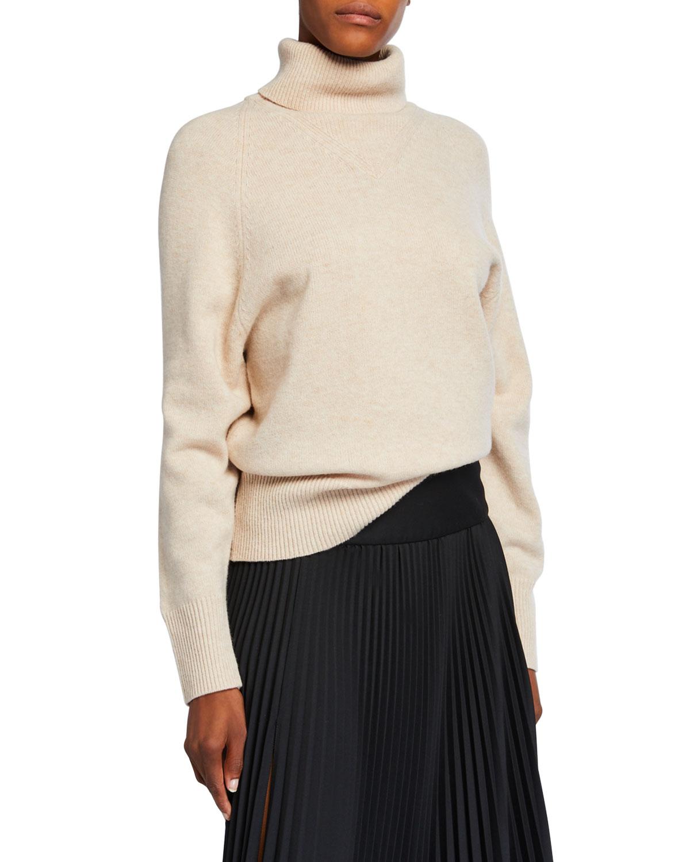 Joseph Sweaters WOOL-BLEND TURTLENECK SWEATER
